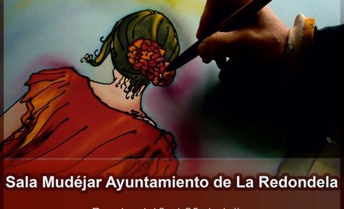 Exposición en Seda en La Sala Mudéjar de La Redondela